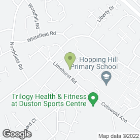 Map of The Cat & Rabbit Care Clinic in Duston, Northampton, northamptonshire