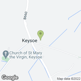 Map of Safety Belt Services in Keysoe, Bedford, bedfordshire