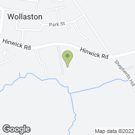 Map of SAJ Sheet Metal Fabrication in Wollaston, Wellingborough, northamptonshire