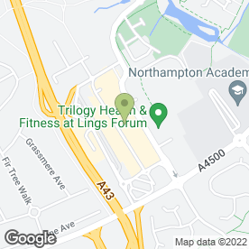 Map of Greggs in Northampton, northamptonshire