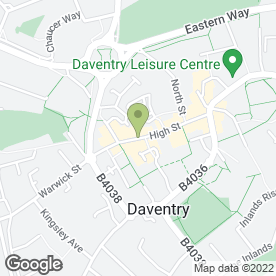 Map of ORCHARD PRINT SERVICES in Daventry, northamptonshire