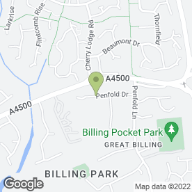 Map of Lifestyle Builders in Great Billing, Northampton, northamptonshire