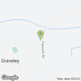 Map of Morespace Storage in Graveley, St. Neots, cambridgeshire