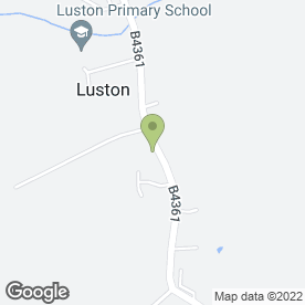 Map of R.E Parry in Luston, Leominster, herefordshire
