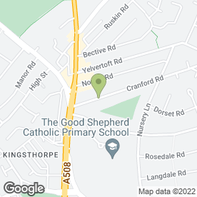 Map of Jervis Limited in Harborough Road, Northampton, northamptonshire