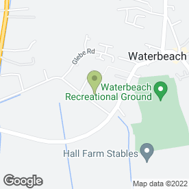 Map of B.A Flitton in Waterbeach, Cambridge, cambridgeshire
