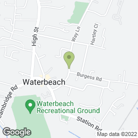Map of Cambridge Digger Hire-Contact in Waterbeach, Cambridge, cambridgeshire