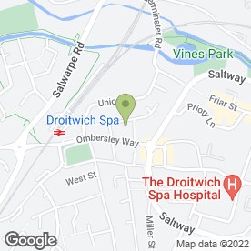 Map of SPA Display in Droitwich, worcestershire