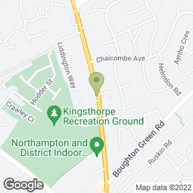 Map of Fox & Hounds in Northampton, northamptonshire