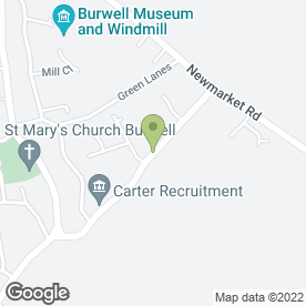 Map of Ashworth Photography in Burwell, Cambridge, cambridgeshire