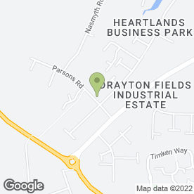 Map of GSF Car Parts in Drayton Fields Industrial Estate, DAVENTRY, northamptonshire