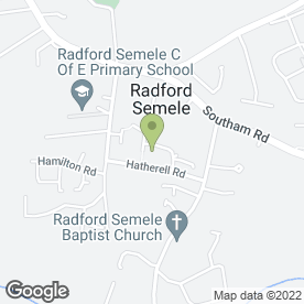 Map of Aqua Shine Domestic Cleaners in Radford Semele, Leamington Spa, warwickshire
