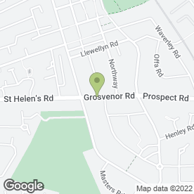 Map of Gemini Gardens & Drives in Leamington Spa, warwickshire
