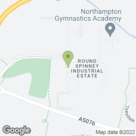 Map of Gillians Blinds Ltd in Northampton, Northamptonshire, northamptonshire