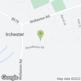 Map of Cake Xpert in Irchester, Wellingborough, northamptonshire