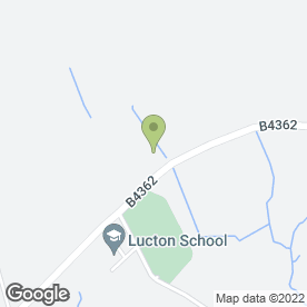 Map of LUCTON SCHOOL in Lucton, Leominster, herefordshire