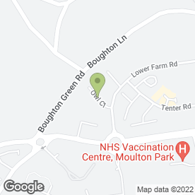 Map of RPA Services in Moulton Park Industrial Estate, Northampton, northamptonshire