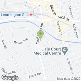 Map of OfficeClean in Leamington Spa, warwickshire