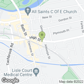 Map of Zebs Cafe in Leamington Spa, warwickshire