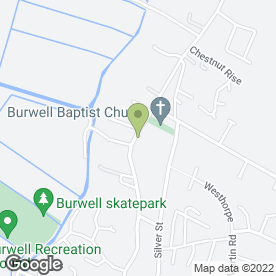 Map of Burwells Taxis in Burwell, Cambridge, cambridgeshire