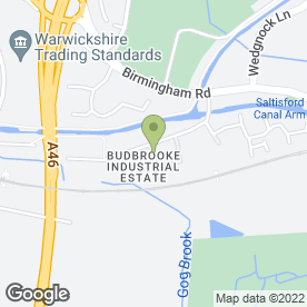 Map of Barfords Removals - The Removal Company in Budbrooke Industrial Estate, Warwick, warwickshire