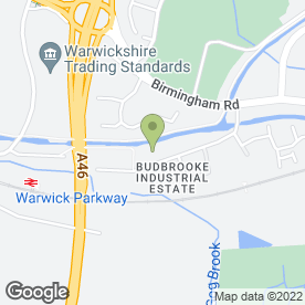 Map of Sky Scaffolding (Midlands) Ltd in Budbrooke Industrial Estate, Warwick, warwickshire