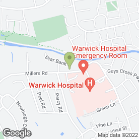 Map of 4 Seasons Blinds & Awnings Ltd in Warwick, warwickshire