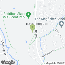 Map of The Golden Goose in Redditch, worcestershire