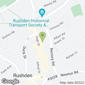 Map of Simply Beauty in Rushden, northamptonshire