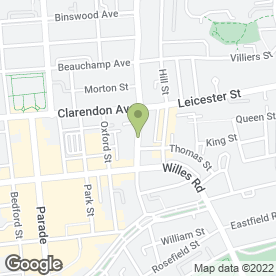 Map of Catherine House Day Nursery School in Leamington Spa, warwickshire