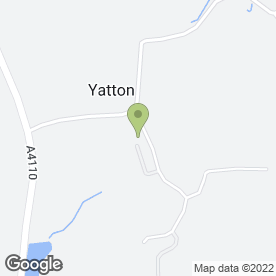 Map of One Man & His Van in Yatton, Leominster, herefordshire