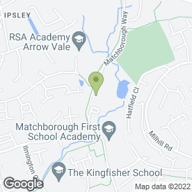 Map of Trimmers in Redditch, worcestershire