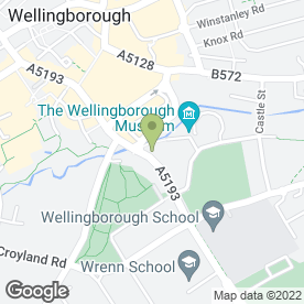 Map of Swanspool Veterinary Clinic in Wellingborough, northamptonshire