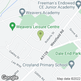 Map of D K Heating Ltd in Wellingborough, northamptonshire