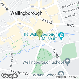 Map of RICHARD JAMES ESTATE AGENTS in Wellingborough, northamptonshire