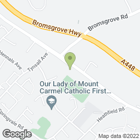 Map of Flair with Flowers in Redditch, worcestershire