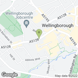 Map of Groom Room in Wellingborough, northamptonshire
