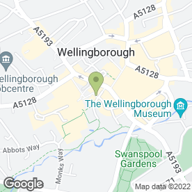 Map of Martin Pendered & Co in Wellingborough, northamptonshire