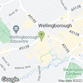 Map of Wm Morrison Supermarkets plc in Wellingborough, northamptonshire