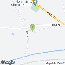 Map of Adara Beauty Ltd in Hatton, Warwick, warwickshire