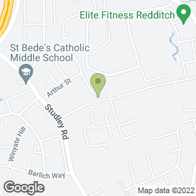 Map of Wiki Electrical Ltd in Redditch, worcestershire