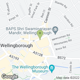 Map of Mobile Joe & Repair Service in Wellingborough, northamptonshire
