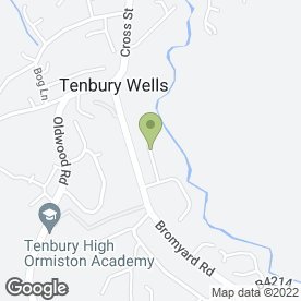 Map of Matthew Trumper in Tenbury Wells, worcestershire