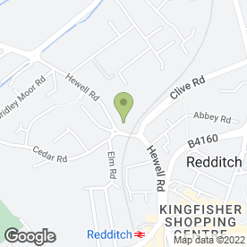 Map of ARROW GARAGE in Redditch, worcestershire
