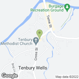 Map of Beauty Laine Ltd in Tenbury Wells, worcestershire
