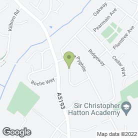 Map of Pams Driving School in Wellingborough, northamptonshire