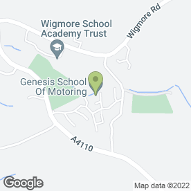 Map of Courier Expert Sameday 24/7 in Wigmore, Leominster, herefordshire