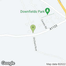 Map of DJ Mini Skips in Soham, Ely, cambridgeshire