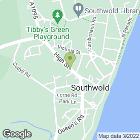 Map of Cooper & Harrison in Southwold, suffolk