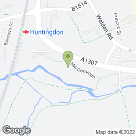 Map of OfficeSTOR in Huntingdon, cambridgeshire